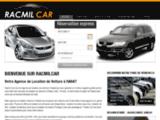 Location voiture Rabat : Racmilcar