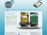 Site sur mobile